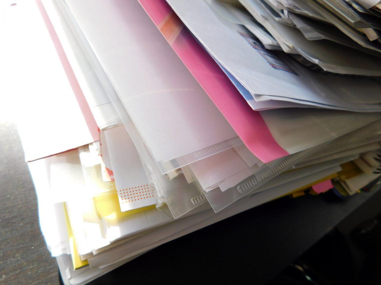 書類の収集