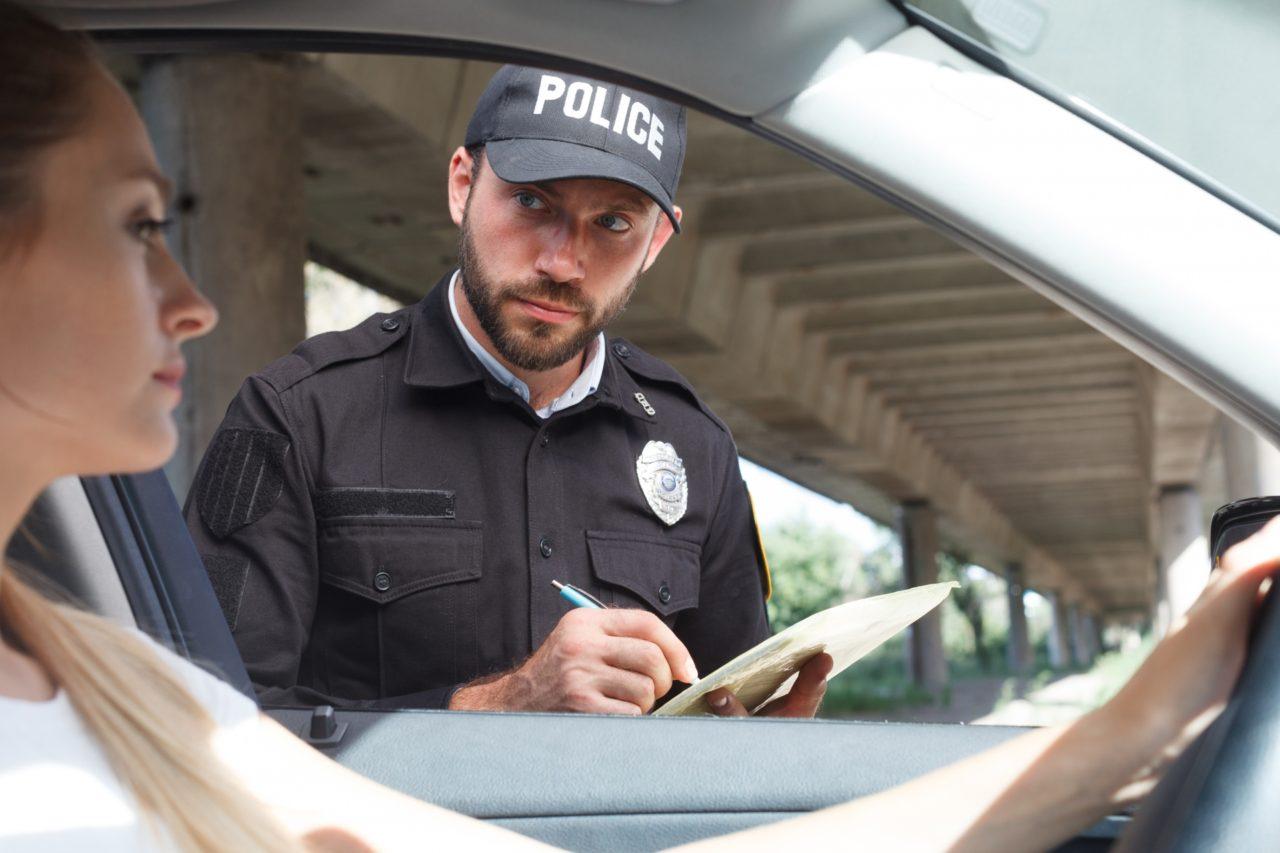 交通違反の取締
